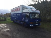2003 mercedes atego 815 furniture box van very tidy no vat