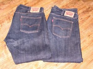 LEVIS 514   Size   38-30    2 Pairs of Jeans