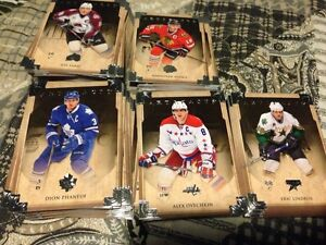 2013-14 Artifacts Hockey cards lot