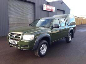 * SOLD * 2008 (58) Ford Ranger 2.5 TDCi Double Cab * 5 Seats * 107k *