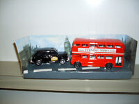 London England Die Cast Bus & Taxi Cab *NEW*