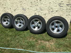 S-10 rims and tires. Cornwall Ontario image 1
