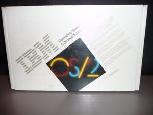 IBM OS/2 Version 1.3 Extended Edition