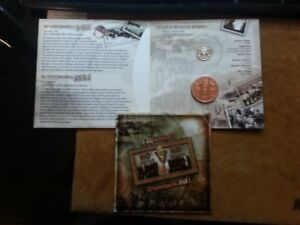 2005 - D-day Medallion, CD and Victory Nickel Set  ...