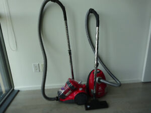 Dirt Devil Featherlite Cyclonic Canister Vacuum (Bagless) - $50.