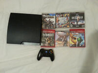 Sony Playstation 3 PS3 with 12 games