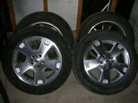 Ford 17'' 235/55R17 Michelin HydroEdge 4 TIRES AND RIMS!!