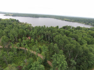 TREED LOT, Viewing Large Bay on BONNECHERE RIVER