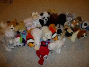 Large collection of L'il Kinz (small size Webkinz), $4 each.
