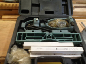 Delta Mortise & Tenon Kit  a/o NEW M & T kit with plastic case