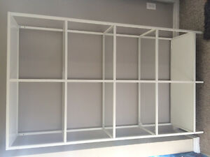 White IKEA shelf