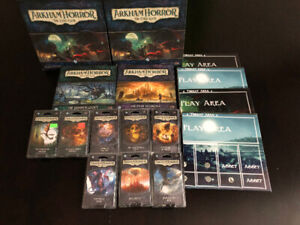 Akham Horror The Card Game + Expansions + Player Mats (Toronto)