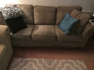 Couch and love seat sofa bed for sale
