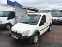 2004 FORD TRANSIT CONNECT SWB SIDE LOADING DOOR LONG MOT VERY CLEAN VAN NO VAT !