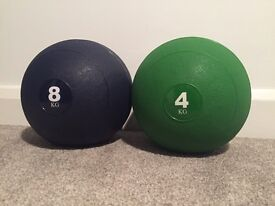 We R' Sports Slam Ball 4kg 8kg No Bounce CrossFit Fitness BootCamp Medicine Ball
