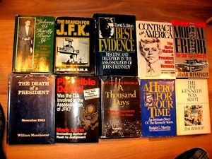 John F Kennedy Hard Cover Book Collection