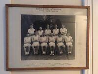 Vintage school athletic team photo