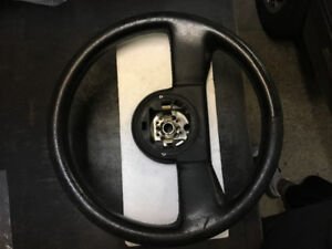 Corvette leather steering wheel volant 1986 1987 1988 1989 used