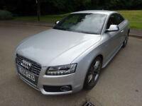 2008 58 Audi A5 S5 V8 4.2 QUATTRO Coupe Petrol 4x4 Manual In Metallic Silver
