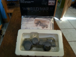 CORGI 1:43 WORLD WAR II HEROES US ARMY WC56 COMMAND CAR 7th ARMY