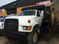 Ford Single Axle Dump