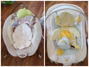 Baby chairs, Moby Wrap, iCandy Pram, Bassinet