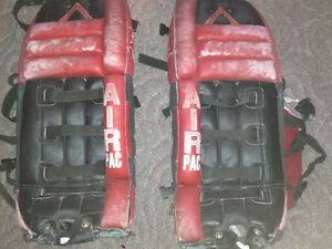GOALIE PADS - 2 SETS - DECENT CONDITION