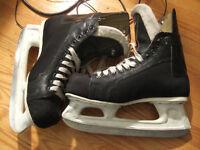 size 9 ccm ice skate super tacks