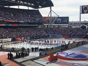 Looking for 1 heritage classic tickets, oct 23, jets oilers