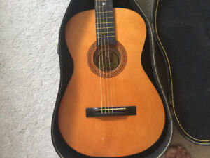 Vintage Guitar and Case