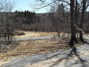 With Stream and New Road  on 3.5 Acres West River  Pictou County