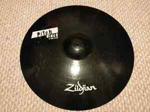 "Zildjian 22"" Pitch Black ride.  3700gm"