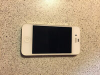 USED IPHONE 4 WHITE 16gb NEED GONE ASAP .. $120 OBO