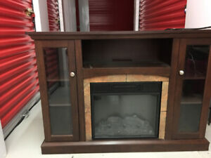 Electrical Fireplace / TV Stand