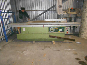 Griggio SC3000 Sliding table Saw & Dust collector