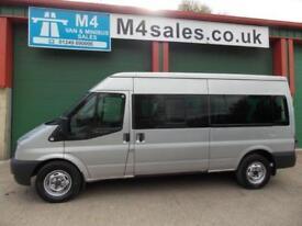 Ford Transit 135ps,14 seat minibus,A/c,fsh.