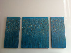 Abstract paintings - toiles abstraites