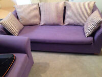Love seat and couch ~~Great condition !!