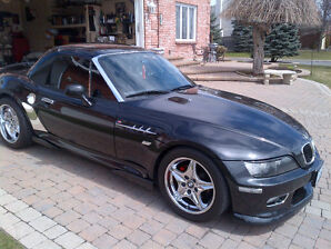 2000 BMW //M Z3 ROADSTER SUPERCHARGED 2.5L 6CYL 330HP TAXES INCL