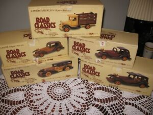 Collectable WoodenCars,