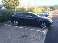 2007 BLACK VAUXALL ASTRA 1.6 SXI 3 DOOR COUPE