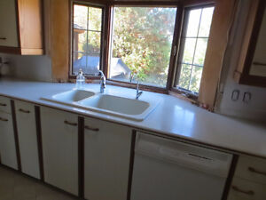 Corian counter tops and sink
