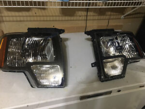 Ford F150 headlights