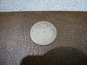 Vintage Canadian 1885, 5 Cent Coin Good Condition