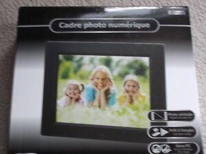 cadre de photos numériques 8 pouces