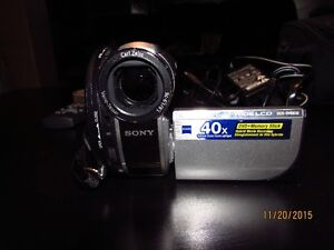 Sony camcorder with miniDVD Kingston Kingston Area image 4