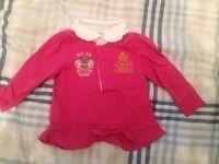 6 months girls ralph lauren top