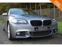 2012 12 BMW 5 SERIES 3.0 530D M SPORT 4D AUTO 255 BHP DIESEL