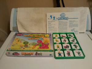 Barney Memory Game - Year 1997 - 100% Complete