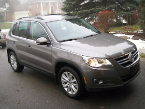 2010 Volkswagen Tiguan HIGHLINE AWD AUTOMATIC LEATHER 1 OWNER